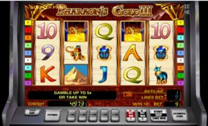 Pharaohs Gold III в Вулкан Делюкс