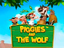 Играть на деньги в автомат Piggies And The Wolf